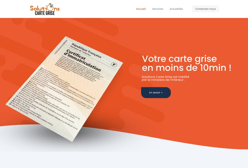 solution carte grise